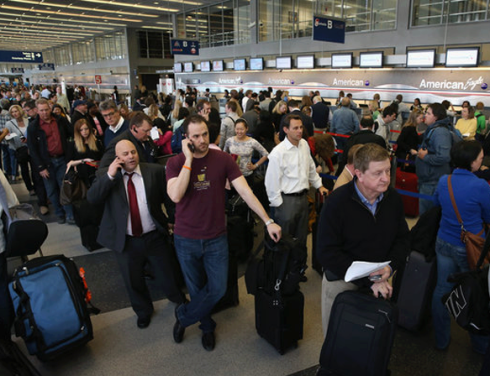 Republican-Caused Delay At Airports Nationwide