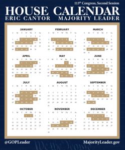 House Schedule 2014