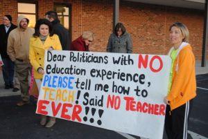 Tenn Teachs Protests 1