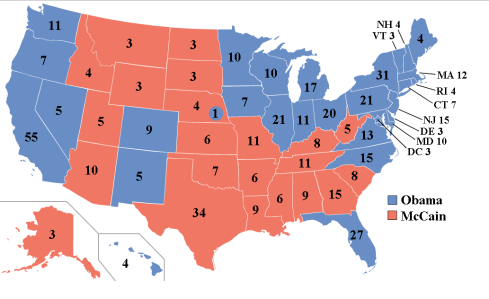 Election Electoral 2008