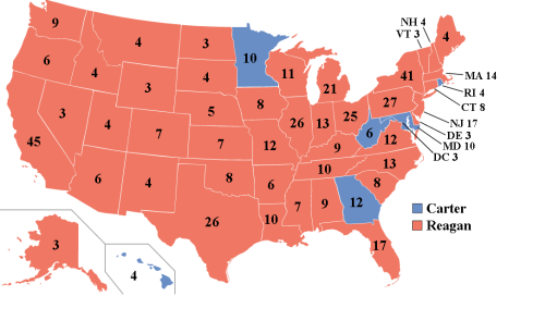 Election Electorial 1980