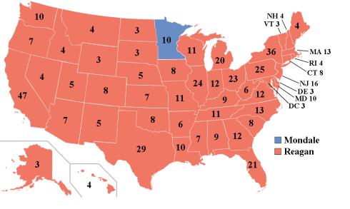 Elections Electoral 1984