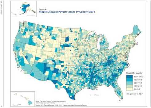 Changes in Areas With Concentrated Poverty: 2000 to 2010