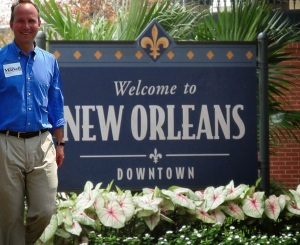 Markell in New Orleans