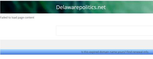 DelawarePolitics Oops